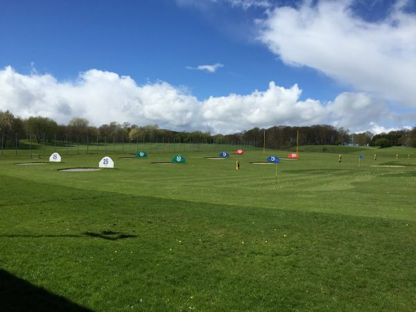 Driving range outfield & targets