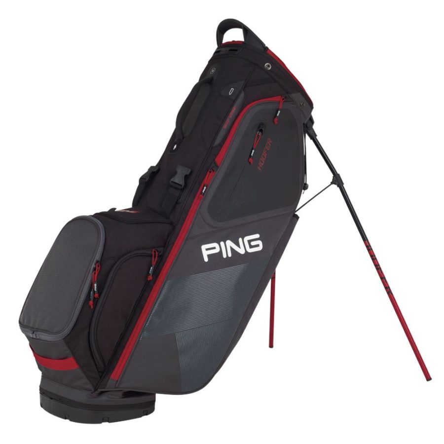 ping_hoofer_stand_bag_graphite_black_red