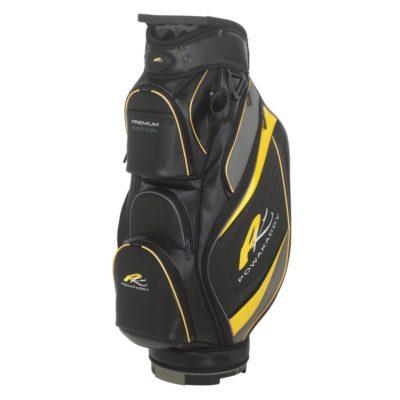 powakaddy_premium_edition_cart_bag_black_gun_metal_yellow