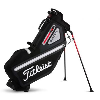 titleist_players_4_stadry_stand_bag_black_grey_red