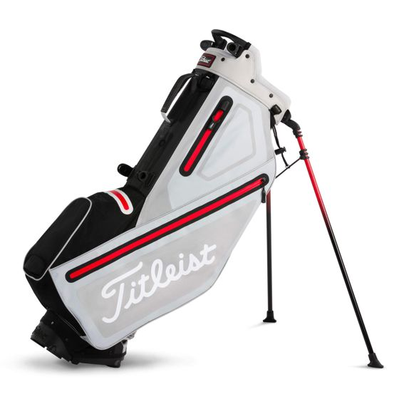 titleist_players_4_stadry_stand_bag_white_grey_red