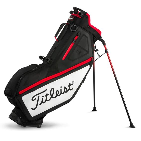 titleist_players_4_stand_bag_black_white_red