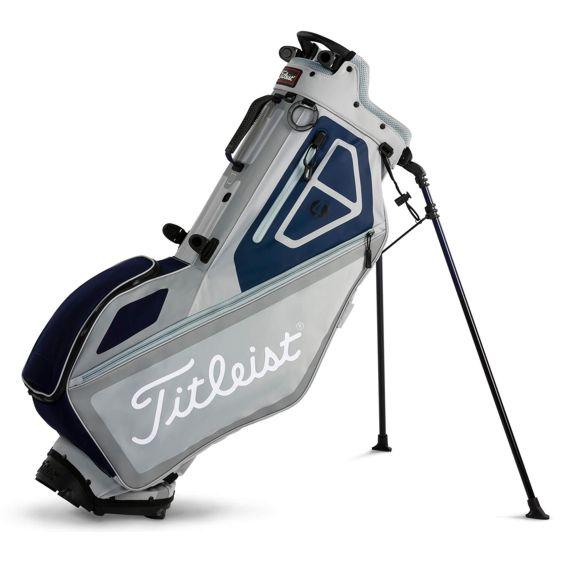 titleist_players_4_stand_bag_silver_navy_white