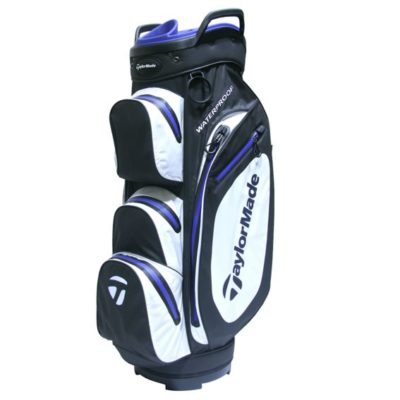 taylormade_waterproof_cart_bag_black_white_blue