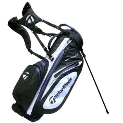 taylormade_waterproof_stand_bag_black_white_blue