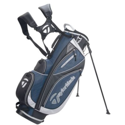 tayloymade_classic_stand_bag_black_black_heather_blue