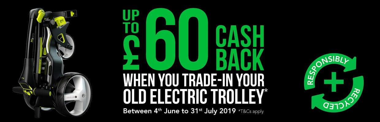 Motocaddy Trolley Trade-In - ExpressGolf co uk