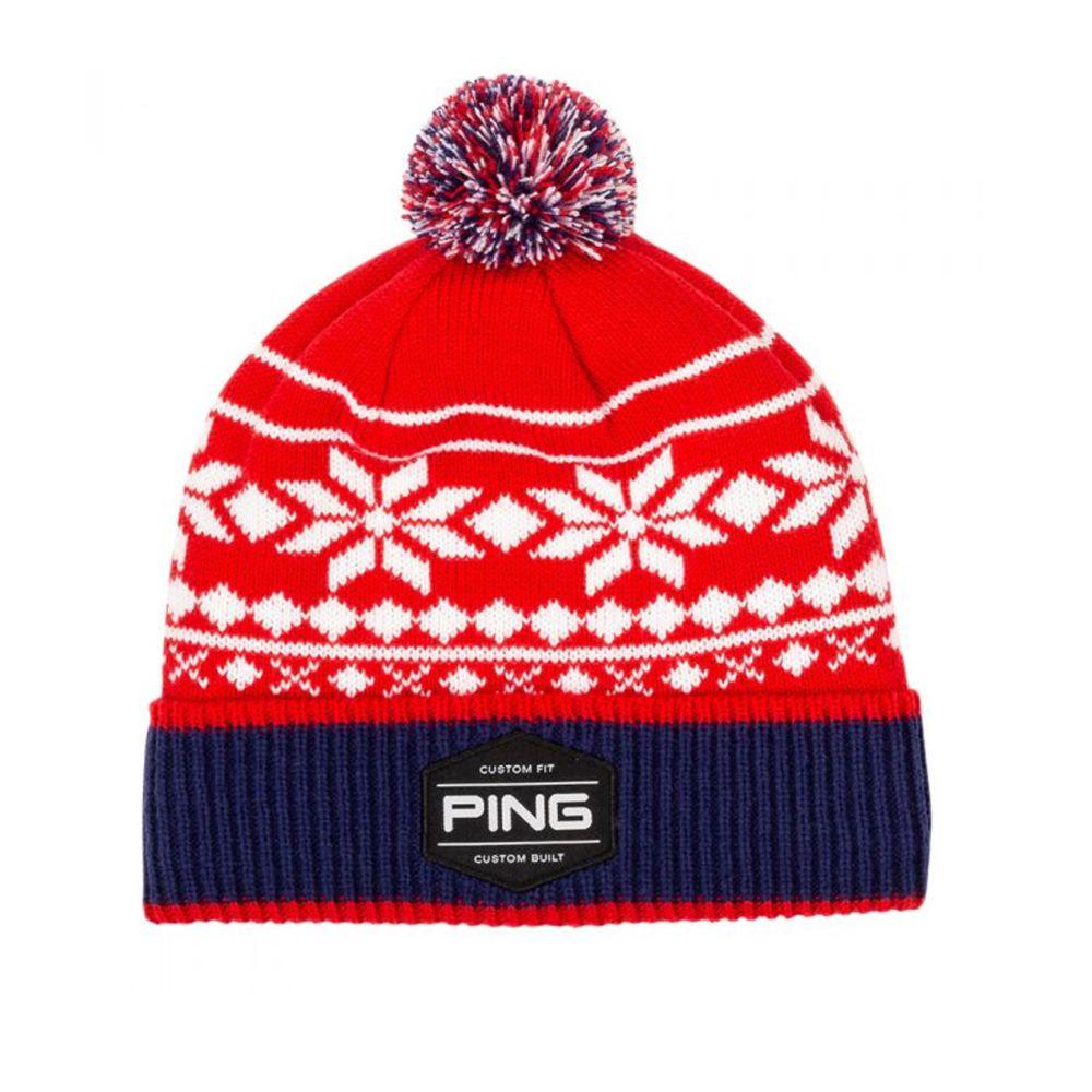 Ping Bergen Pom Pom Winter Hat - Express Golf 6f015a664e6