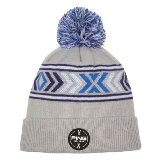 Ping Nordic Pom Pom Winter Hat