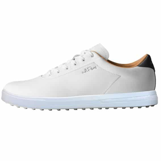 Adidas Adipure Golf Shoes White Brown