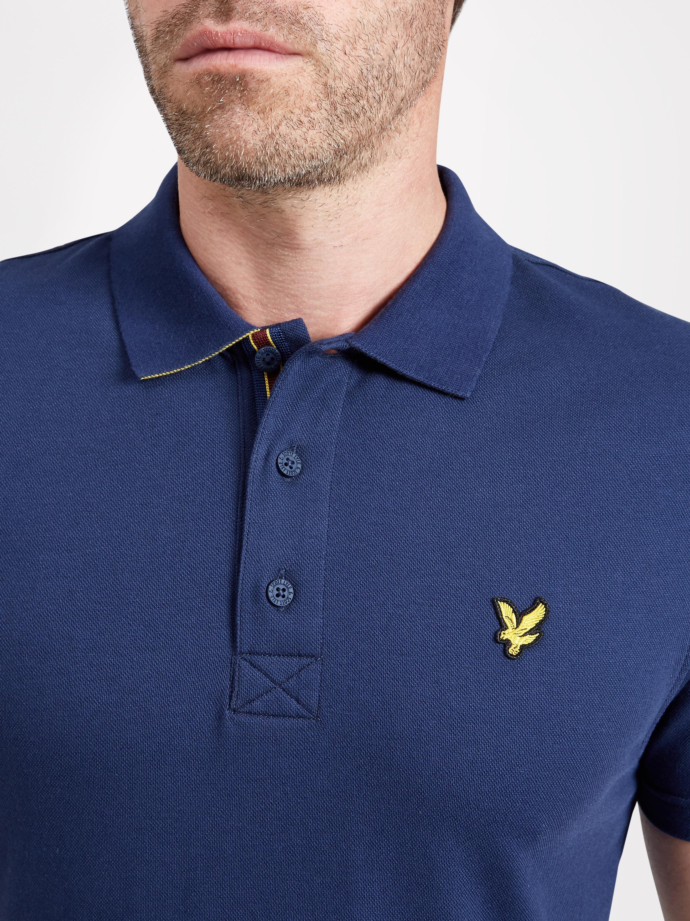 Lyle Scott Kelso Tech Pique Polo Shirt Express Golf