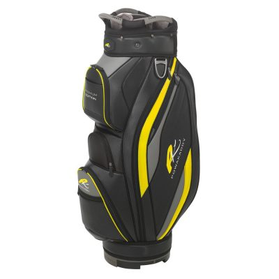 01 2019 PowaKaddy Premium - Black with Yellow Trim