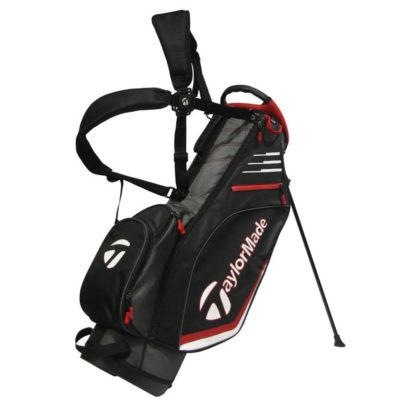 taylormade_lightweight_stand_bag_black_red