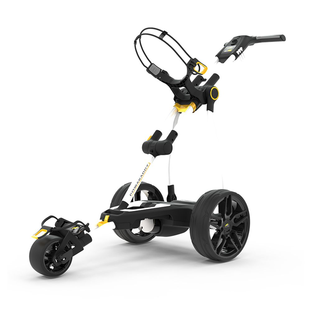 Powakaddy Compact C2 Limited Edition Electric Golf Trolley - 18 Hole  Standard Lithium